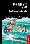 Cover-Bild zu Die drei ??? Kids, 73, Surfstrand in Gefahr von Blanck, Ulf