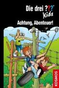 Cover-Bild zu Die drei ??? Kids, 79, Achtung, Abenteuer! von Pfeiffer, Boris