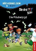 Cover-Bild zu Die drei ??? Kids, Bücherhelden, Die Räuberjagd (drei Fragezeichen Kids) (eBook) von Blanck, Ulf