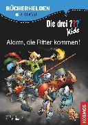 Cover-Bild zu Die drei ??? Kids, Bücherhelden, Alarm, die Ritter kommen! (drei Fragezeichen Kids) (eBook) von Blanck, Ulf