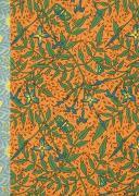 Cover-Bild zu Gefährlich schön Notizbuch klein - Motiv Blau-gelbe Blüten von Schöll, Stephan (Gestaltet)