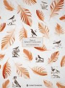 Cover-Bild zu Pasta für Nachtigallen Geschenkpapier-Heft - Motiv Orange Federn von Schöll, Stephan (Gestaltet)