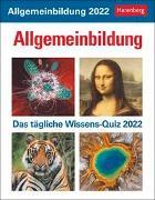 Cover-Bild zu Allgemeinbildung Kalender 2022