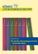 Cover-Bild zu Deutsche Literaturgeschichte - Epochenüberblicke