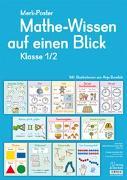 Cover-Bild zu Boretzki, Anja (Illustr.): Merk-Poster: Mathe-Wissen auf einen Blick - Klasse 1/2