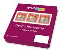 Cover-Bild zu Boretzki, Anja (Illustr.): Sprachfix - Spiele zur Sprachförderung: Geschichtenpuzzle - Set 1
