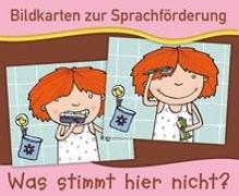 Cover-Bild zu Verlag an der Ruhr, Redaktionsteam: Bildkarten zur Sprachförderung: Was stimmt hier nicht? - Neuauflage