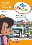 Cover-Bild zu der-die-das, Deutsch-Lehrwerk für Grundschulkinder mit erhöhtem Sprachförderbedarf, Sprache und Lesen, 4. Schuljahr, 5 Poster im Paket, 10 Einstiegsbilder des Basisbuchs