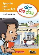 Cover-Bild zu der-die-das, Deutsch-Lehrwerk für Grundschulkinder mit erhöhtem Sprachförderbedarf, Erstlesen, 1./2. Schuljahr, Kopiervorlagen mit CD-ROM von Koenen, Marlies