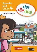 Cover-Bild zu der-die-das, Deutsch-Lehrwerk für Grundschulkinder mit erhöhtem Sprachförderbedarf, Sprache und Lesen, 4. Schuljahr, Kopiervorlagen mit CD-ROM