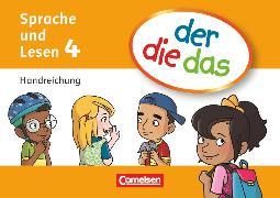 Cover-Bild zu der-die-das, Deutsch-Lehrwerk für Grundschulkinder mit erhöhtem Sprachförderbedarf, Sprache und Lesen, 4. Schuljahr, Handreichungen-Kartei mit Stülpschachtel, Mit Beileger