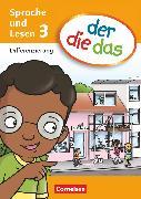 Cover-Bild zu der-die-das, Deutsch-Lehrwerk für Grundschulkinder mit erhöhtem Sprachförderbedarf, Sprache und Lesen, 3. Schuljahr, Differenzierungsblock von Behle-Saure, Birgit