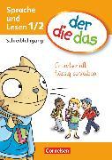 Cover-Bild zu der-die-das, Deutsch-Lehrwerk für Grundschulkinder mit erhöhtem Sprachförderbedarf, Erstlesen, 1./2. Schuljahr, Grundschrift flüssig schreiben, Schreiblehrgang