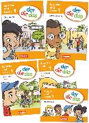Cover-Bild zu der-die-das, Deutsch-Lehrwerk für Grundschulkinder mit erhöhtem Sprachförderbedarf, Erstlesen, 1. Schuljahr, Produktpaket, 081960-7, 081964-5, 082795-4 und 080414-6 im Paket