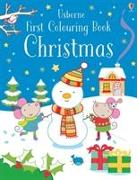 Cover-Bild zu Greenwell, Jessica: First Colouring Book Christmas