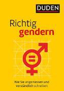 Cover-Bild zu Richtig gendern