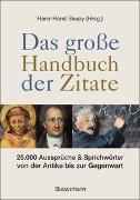 Cover-Bild zu Das große Handbuch der Zitate