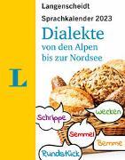 Cover-Bild zu Langenscheidt Sprachkalender Dialekte 2023