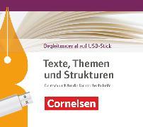 Cover-Bild zu Texte, Themen und Strukturen, Deutschbuch für die Oberstufe, Fachhochschulreife Neubearbeitung, Unterrichtsmanager Plus auf USB-Stick, Inkl. E-Book als Zugabe und Begleitmaterialien