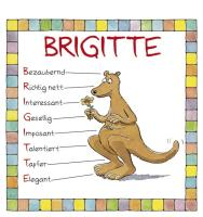Cover-Bild zu Namenskalender Brigitte