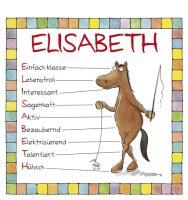 Cover-Bild zu Namenskalender Elisabeth