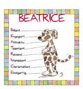 Cover-Bild zu Namenskalender Beatrice