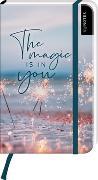 Cover-Bild zu myNOTES Notizbuch A6: The magic is in you - notebook small, blanko - für Träume, Pläne und Ideen / ideal als Bullet Journal oder Tagebuch