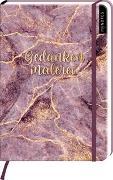Cover-Bild zu myNOTES Notizbuch A5: Gedankenmalerei - notebook medium, dotted - für Träume, Pläne und Ideen / ideal als Bullet Journal oder Tagebuch