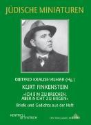 Cover-Bild zu Krause-Vilmar, Dietfrid (Hrsg.): Kurt Finkenstein