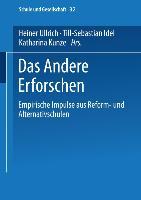Cover-Bild zu Ullrich, Heiner (Hrsg.): Das Andere Erforschen