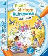 Cover-Bild zu tiptoi® CREATE Malen Stickern Aufnehmen: Zauberschule von Bieberstein, Lotta