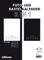 Cover-Bild zu Foto- und Bastelkalender 2 in 1