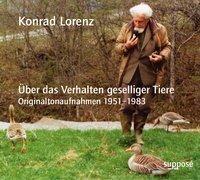 Cover-Bild zu Über das Verhalten geselliger Tiere. 2 CDs von Lorenz, Konrad