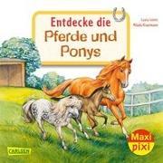 Cover-Bild zu Leintz, Laura: Maxi Pixi 342: VE 5: Entdecke die Pferde und Ponys (5 Exemplare)