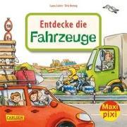 Cover-Bild zu Leintz, Laura: Maxi Pixi 344: VE 5: Entdecke die Fahrzeuge (5 Exemplare)