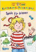 Cover-Bild zu Leintz, Laura: VE 5 Meine Freundin Conni: Kunterbunter Mitmach-Spaß - Connis Spiele für drinnen