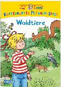 Cover-Bild zu Leintz, Laura: VE 5 Meine Freundin Conni: Kunterbunter Mitmach-Spaß - Connis Waldtiere