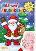 Cover-Bild zu Leintz, Laura: Mal- und Zauberblock: Weihnachten