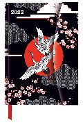Cover-Bild zu Japanese Papers 2022 - Diary - Buchkalender - Taschenkalender - 16x22