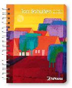 Cover-Bild zu Ton Schulten 2022 - Diary - Buchkalender - Taschenkalender - Kunstkalender - 16,5x21,6