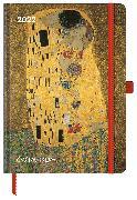 Cover-Bild zu Gustav Klimt 2022 - Buchkalender - Taschenkalender - Kunstkalender - 16x22