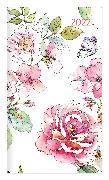 Cover-Bild zu Miniplaner Style Rosenblüten 2022 - Taschen-Kalender 9x15 cm - Weekly - 64 Seiten - 1 Seite 1 Woche - Notiz-Heft - Alpha Edition