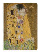 Cover-Bild zu Ladytimer Klimt 2022 - Taschenkalender A6 (11x15 cm) - Weekly - 192 Seiten - Notiz-Buch - Termin-Planer - Alpha Edition