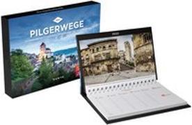 Cover-Bild zu Pilgerwege Tischkalender 2022