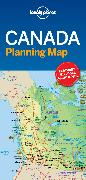 Cover-Bild zu Lonely Planet Canada Planning Map. 1:9'350'000