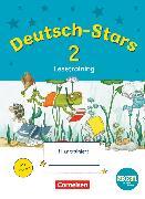 Cover-Bild zu Deutsch-Stars, BOOKii-Ausgabe, 2. Schuljahr, Lesetraining, Übungsheft, Mit Lösungen von Scholtes, Cornelia