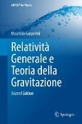 Cover-Bild zu Relatività Generale e Teoria della Gravitazione