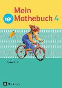 Cover-Bild zu Mein Mathebuch, Ausgabe B für Bayern, 4. Jahrgangsstufe, Schülerbuch mit Kartonbeilagen von Dangelat-Bergner, Brigitte