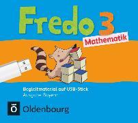 Cover-Bild zu Fredo - Mathematik, Ausgabe B für Bayern, 3. Jahrgangsstufe, Begleitmaterial auf USB-Stick, Inkl. E-Book als Zugabe und Unterrichtsmanager auf scook.de