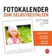 Cover-Bild zu Fotokalender klein weiß immerwährend